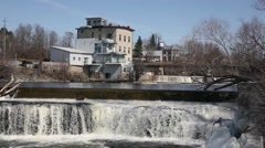 Almonte Waterfalls Stock Footage