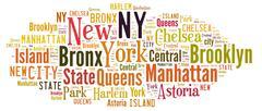 New York. Stock Illustration