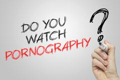 Hand writing do you watch pornography Kuvituskuvat