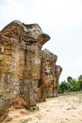 Mor Hin Khao park in Thailand Stock Photos