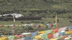 Stock Video Footage of Tibetan village house, China-2