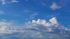 Cumulus Clouds Timelapse 19 Stock Footage