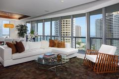 Luxury interior condominium - stock photo