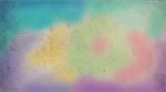 Stock Video Footage of Painting. Hand drawn animation abstract background. Airbrush retro look.