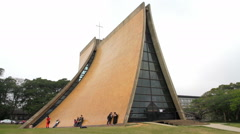 Taichung Luce Memorial Chapel. HD Stock Footage