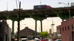 Brooklyn Queens Expressway BQE Day  Stock Footage
