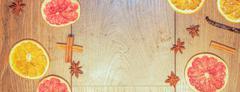 Dry fruit background - stock photo