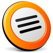 expand icon - stock illustration