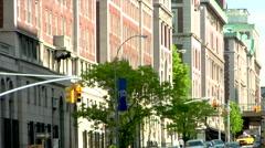 Academic Institution Upper West Side Manhattan Stock Footage