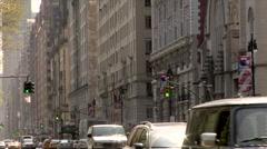 Central Park West Manhattan Stock Footage