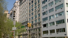 Stock Video Footage of Fifth Avenue Residential Buildings