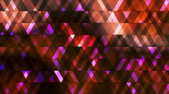 Broadcast Twinkling Hi-Tech Diamonds, Multi Color, Abstract, Loopable, HD Stock Footage