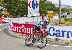 The Cyclist Gert Steegmans - stock photo