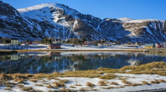 Winter Lofoten, Norway Stock Footage