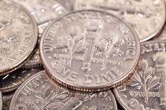 one dime - stock photo