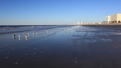 Good morning from Cherry Grove Beach, SC Stock Footage