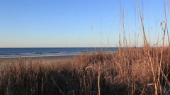 Morning seascape - stock footage