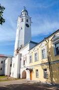 Ancient bell tower in the Kremlin in Novgorod the Great (Veliky Novgorod), Ru Stock Photos