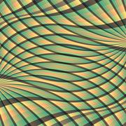 Abstract swirl background. Pattern with optical illusion. Vector Stock Illustration