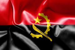 Stock Illustration of Angola Flag