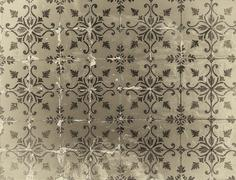 Vintage azulejos, traditional Portuguese tiles Stock Photos