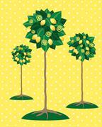 Lemon tree Stock Illustration