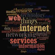 Internet of Things. Stock Illustration