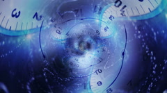 Time Travel Tunnel, Background, Loop Stock Footage