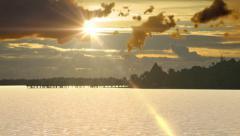GOLDEN SUNSET UHD - stock footage