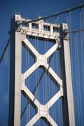 Oakland bridge, California Kuvituskuvat