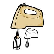 Hand Mixer Stock Illustration