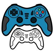 Joypad - stock illustration