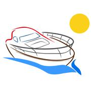 Stock Illustration of Yacht sketch