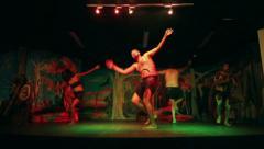 Native Australian Aborigines Dance Arkistovideo