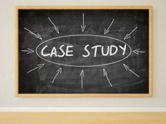 Stock Illustration of Case Study