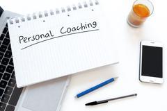 Personal Coaching Stock Illustration