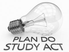 Stock Illustration of Plan Do Study Act