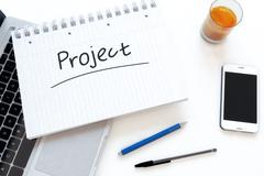 Stock Illustration of Project