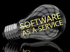 Software as a Service Stock Illustration