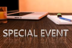 Special Event Stock Illustration