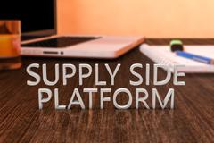 Supply Side Platform Stock Illustration