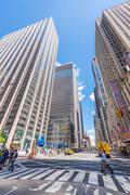 NEW YORK CITY - MAY 22, 2013: Times Square on a spring day. Approximately 330 - stock photo
