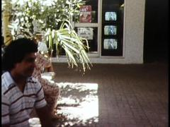 Melbourne Cup as Viewed in Streets of Darwin (1980) Stock Footage