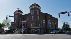 Birmingham 16th Street Baptist Church Cinematic Stock Footage