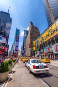 NEW YORK CITY - MAY 22, 2013: Times Square on a spring day. Approximately 330 Stock Photos