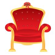 Easy chair Stock Illustration
