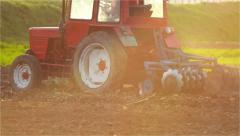 Traktor plates Stock Footage