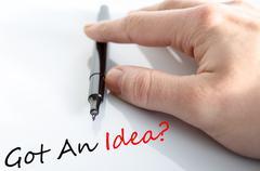 Got An Idea Concept Stock Photos