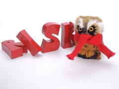 Risk of bird flu - stock photo