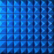 Stock Illustration of Blue Pyramid